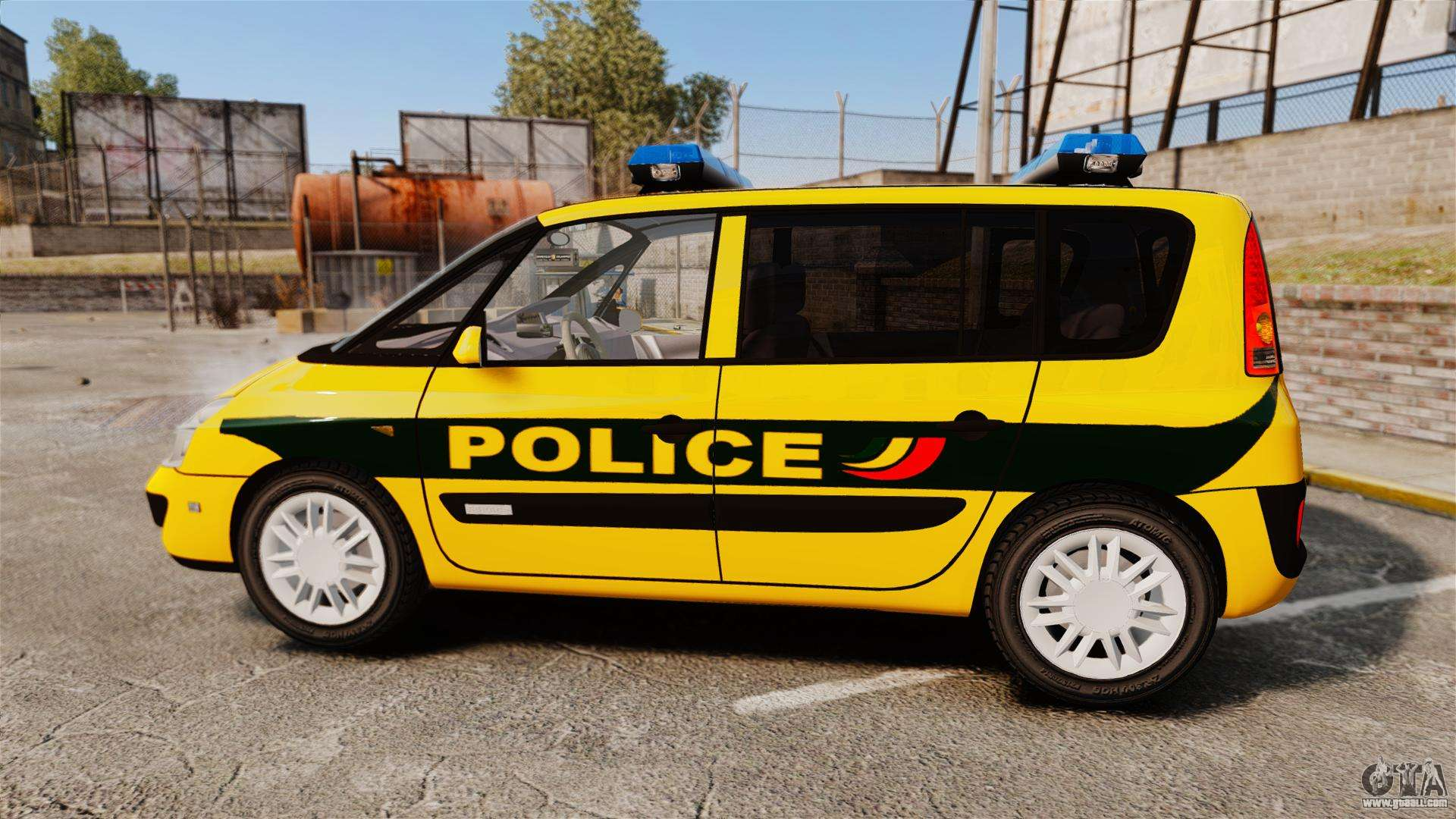 renault espace police nationale els for gta 4. Black Bedroom Furniture Sets. Home Design Ideas