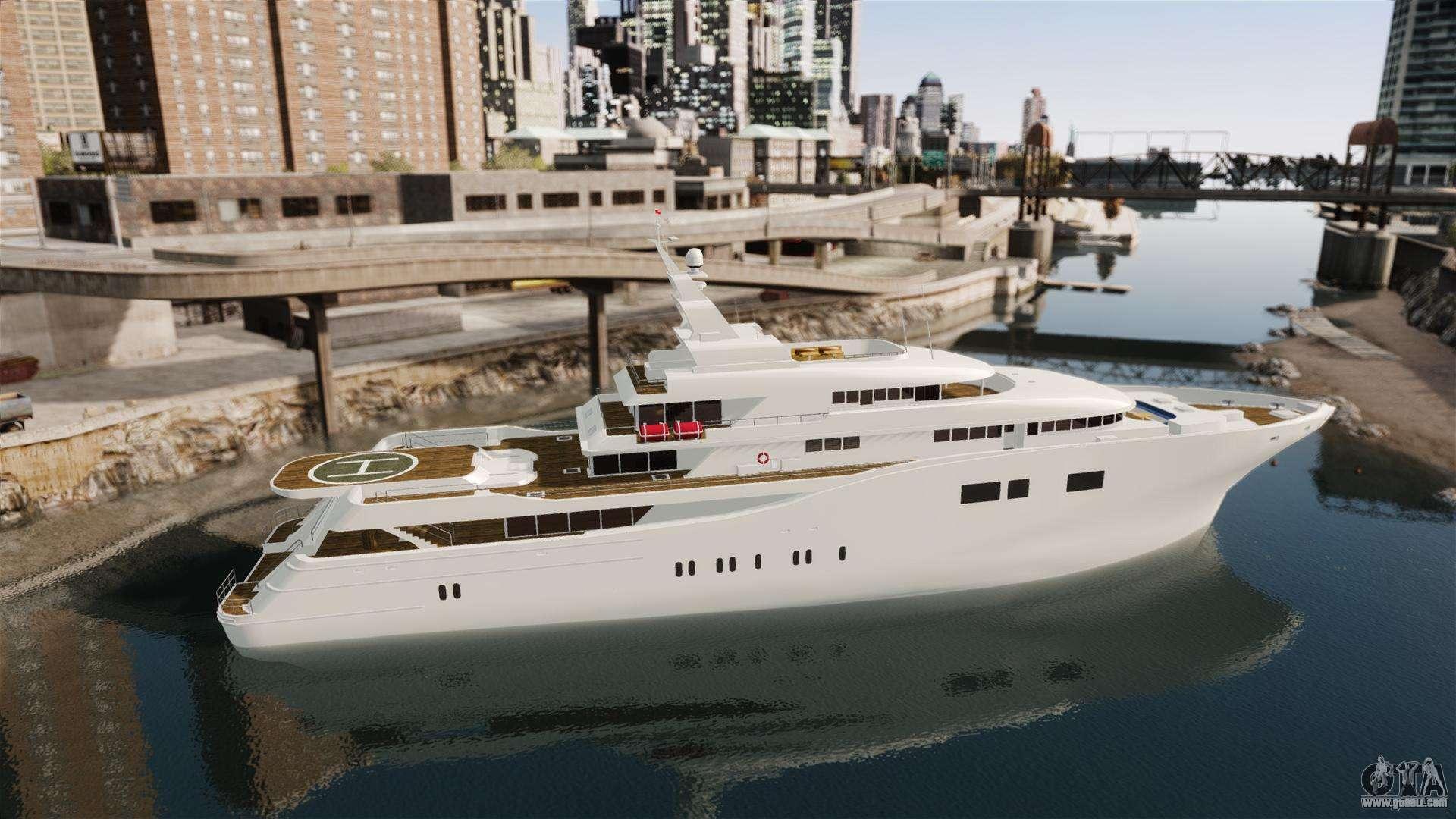 Full Yacht For Gta 4