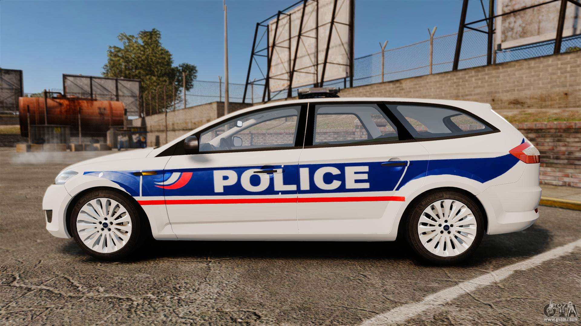 Police Car Gta  Ford
