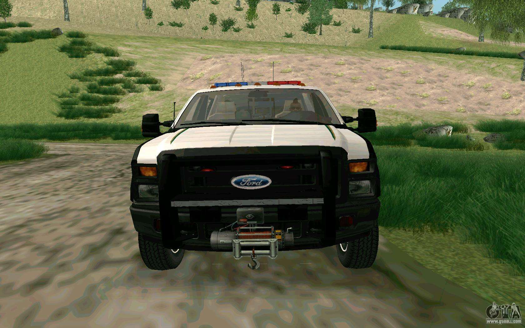 Ford f 250 bone county ultimate response for gta san andreas left view