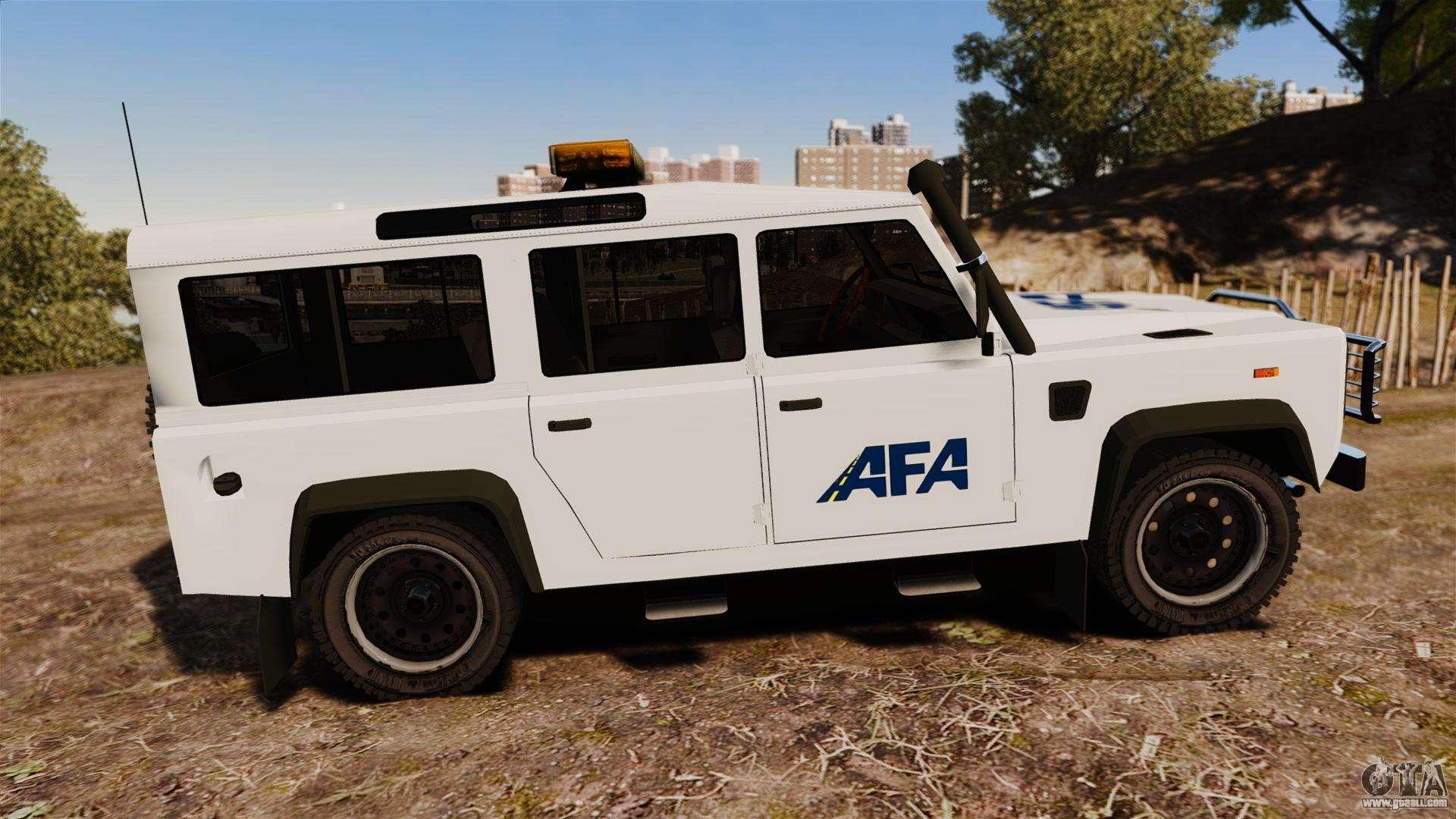 Land Rover Defender Afa Els For Gta 4
