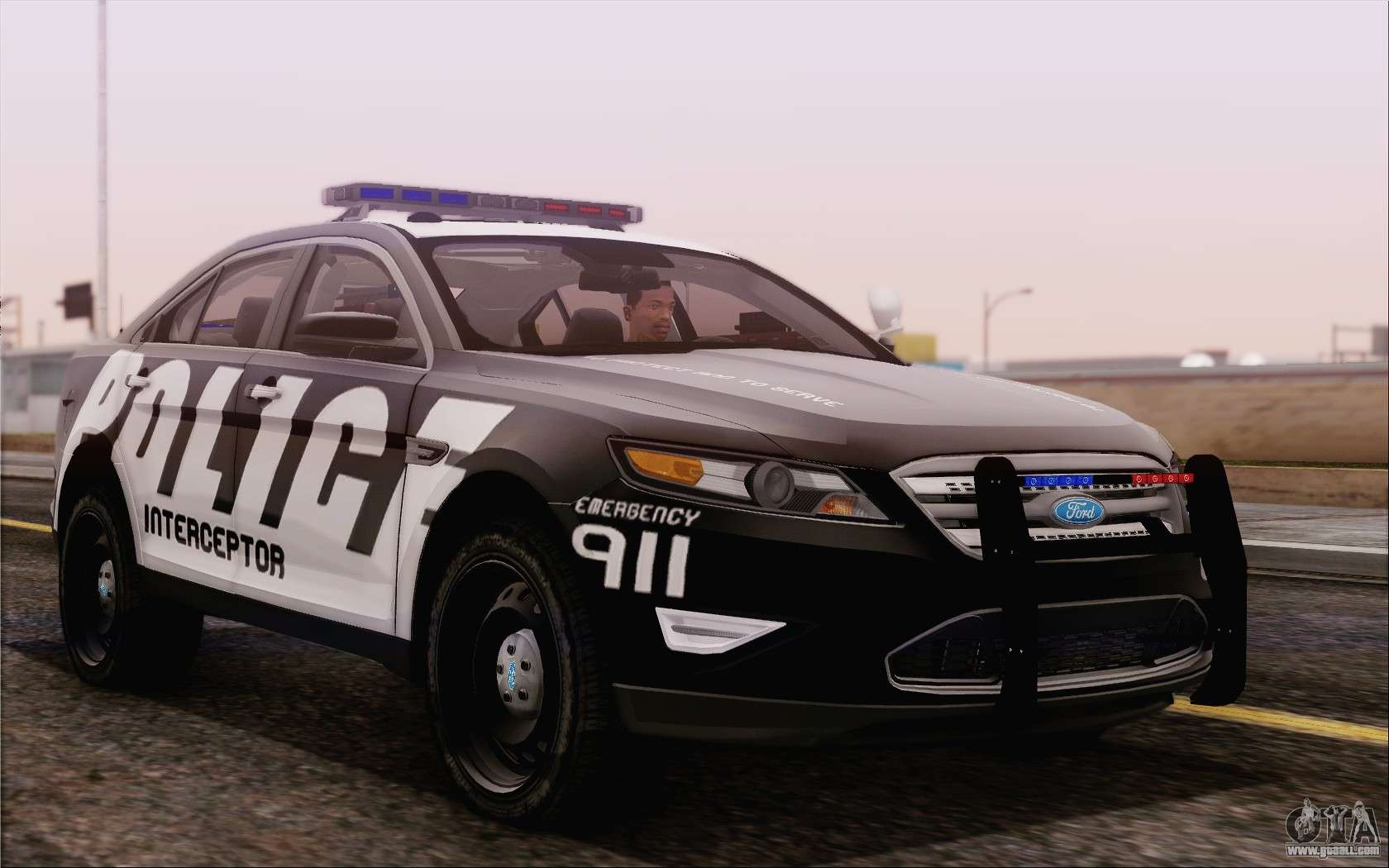 Ford Fusion Mods >> Ford Taurus Police for GTA San Andreas