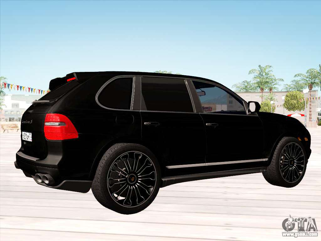 porsche cayenne turbo s 2010 stock for gta san andreas. Black Bedroom Furniture Sets. Home Design Ideas