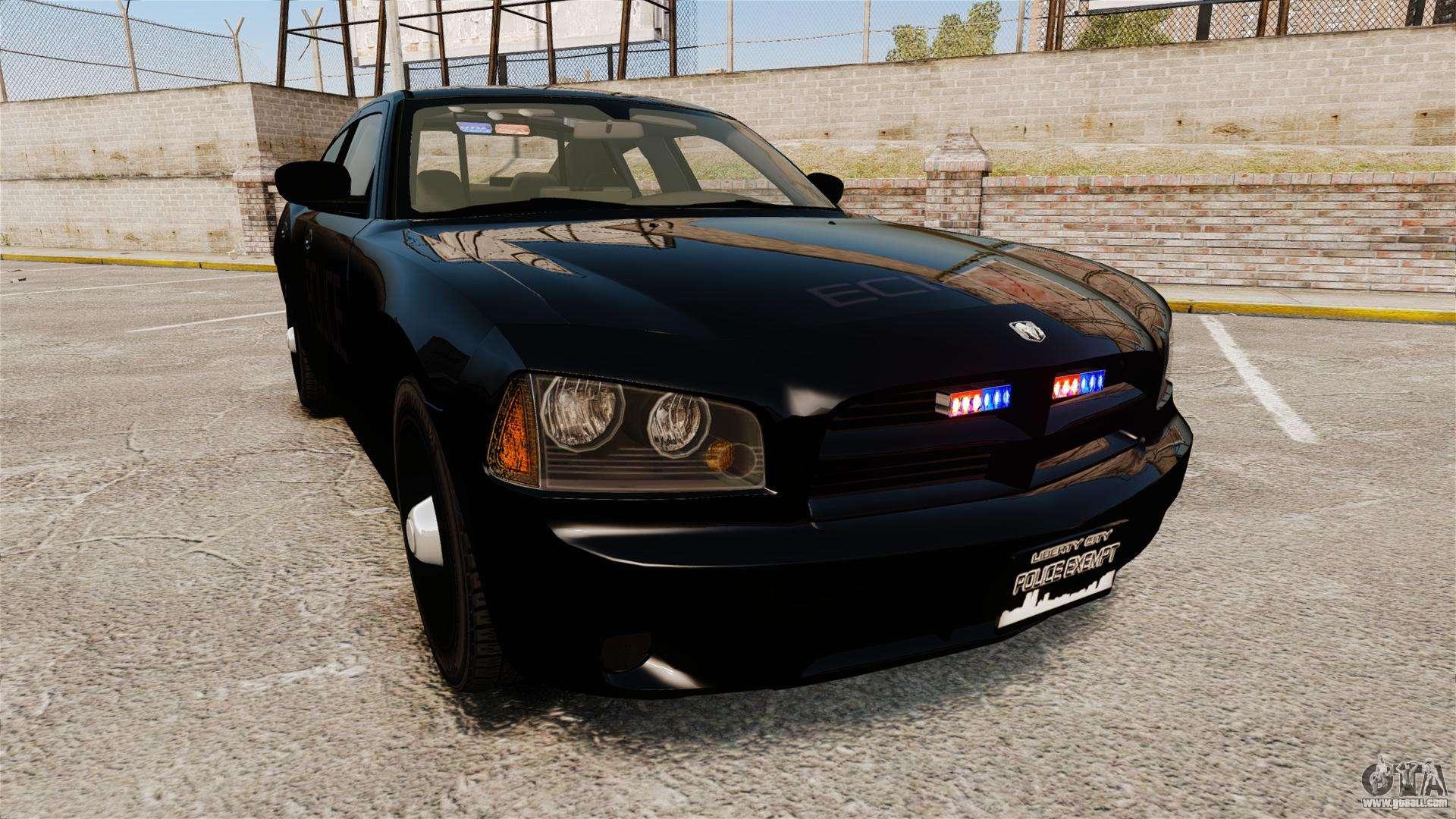 Dodge Charger Slicktop Police Els For Gta 4