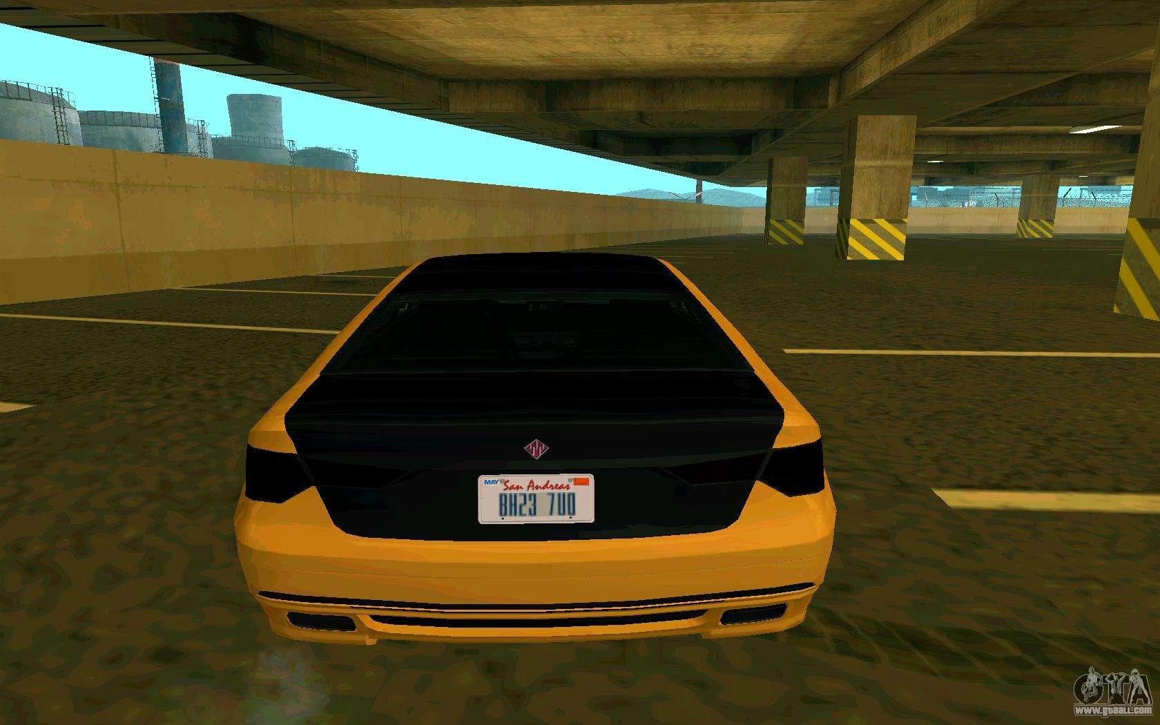 Ubermacht Oracle      GTA IN for GTA San Andreas back left view