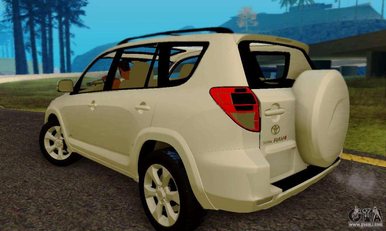 Toyota Rav4 For Gta San Andreas