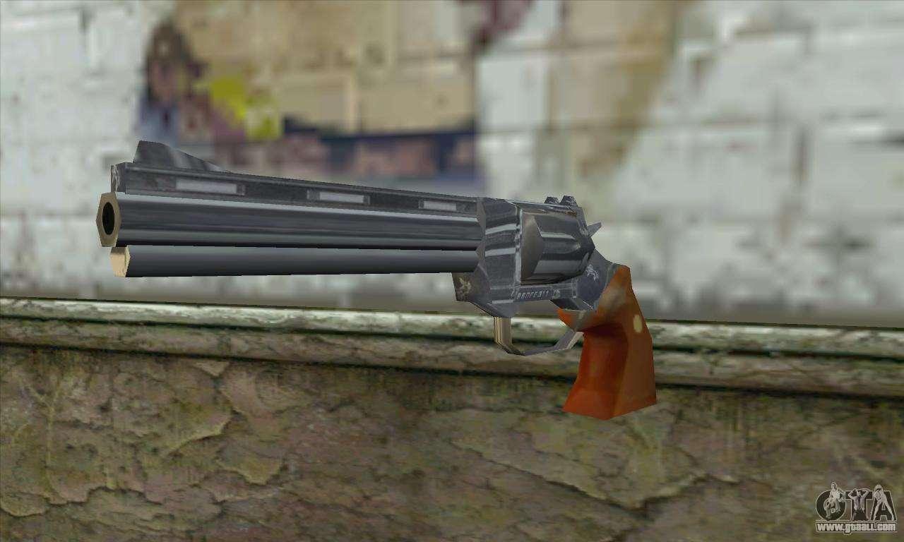 The Walking Dead Revolver For Gta San Andreas