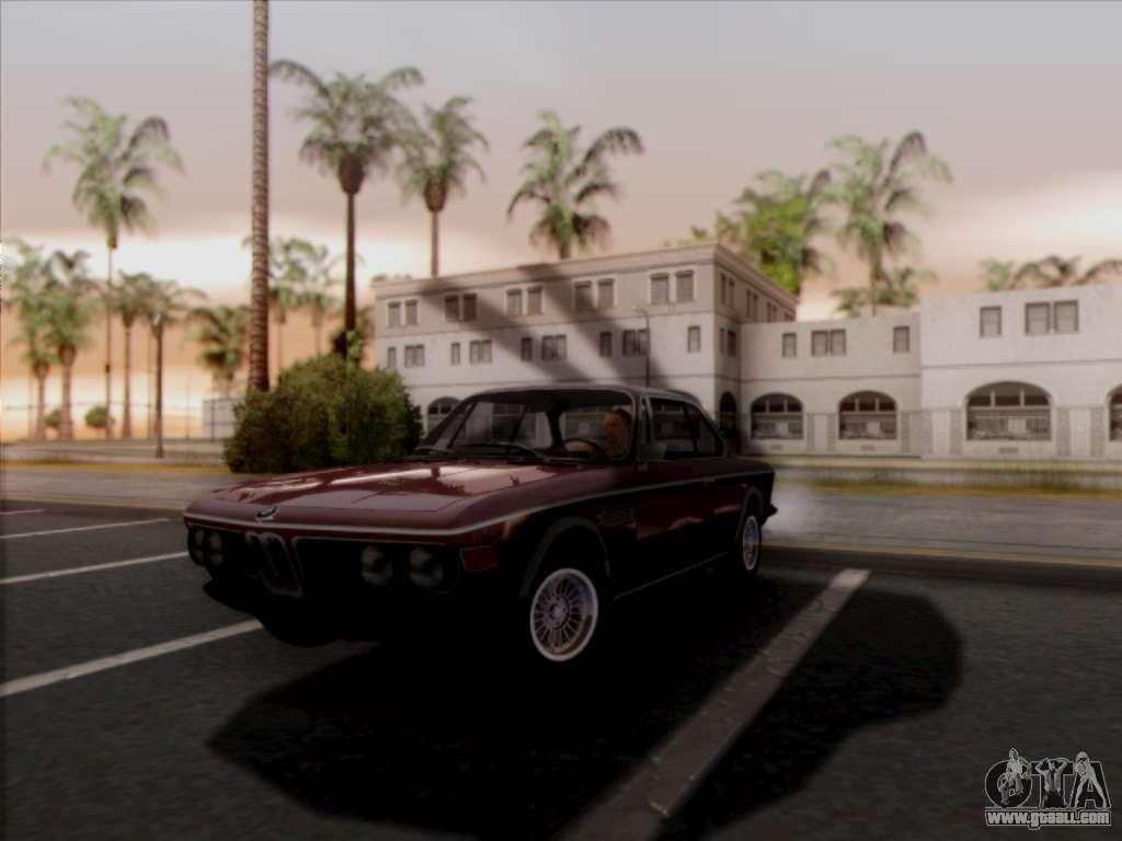 BMW 3.0 CSL 1971 for GTA San Andreas