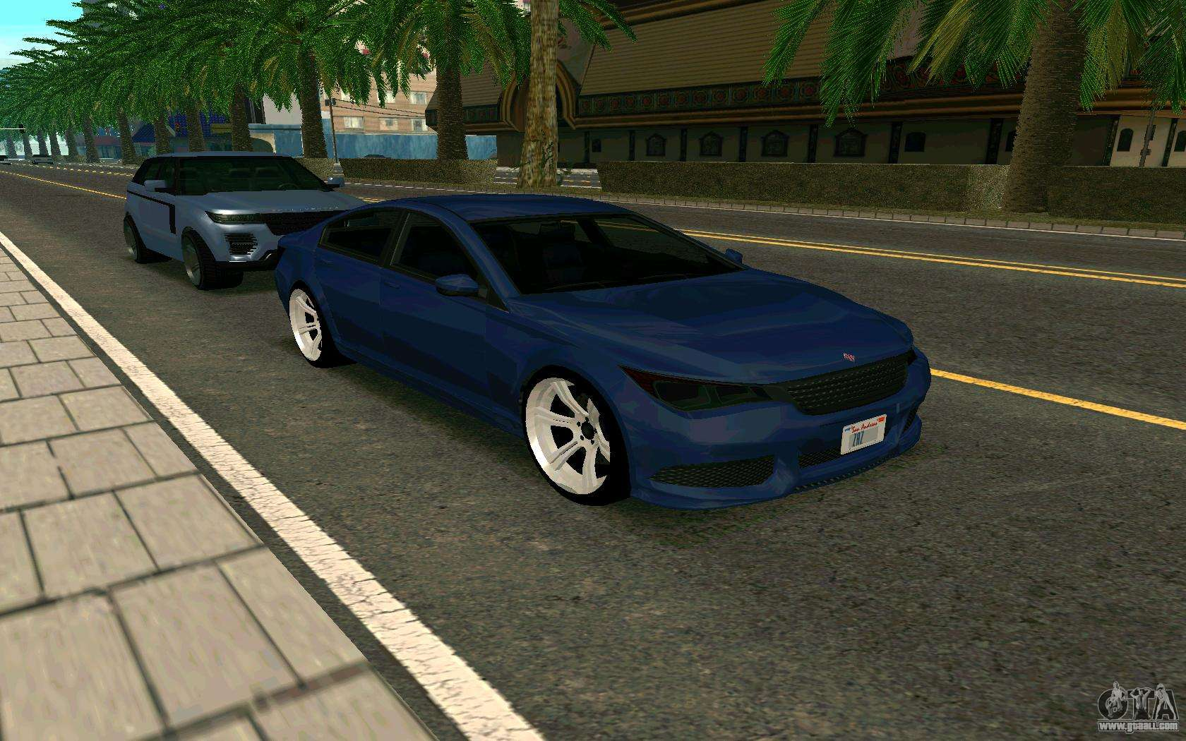 Ubermacht Oracle      GTA IN for GTA San Andreas right view