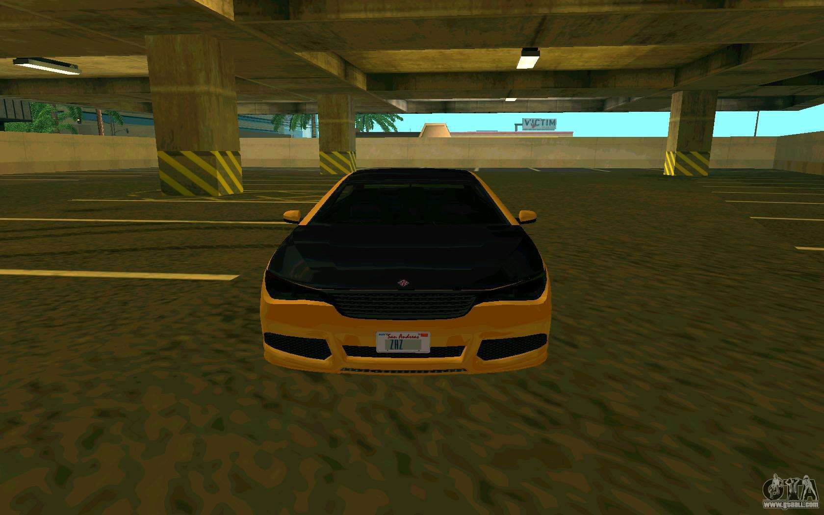Ubermacht Oracle      GTA IN for GTA San Andreas left view