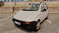 Daewoo Matiz SE 1998 for GTA 4