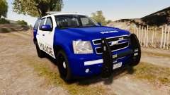 Chevrolet Tahoe 2008 LCPD [ELS] crossover for GTA 4