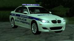 BMW M5 E60 Police SF for GTA San Andreas