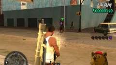C-HUD Bear for GTA San Andreas