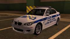 BMW M5 E60 Police LS for GTA San Andreas