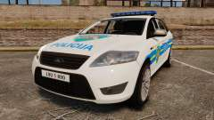 Ford Mondeo Croatian Police [ELS]