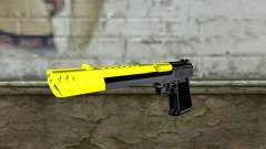 Yellow Desert Eagle for GTA San Andreas