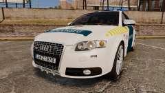 Audi S4 Avant Hungarian Police [ELS]