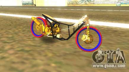 Drag Mio Full GOLD for GTA San Andreas