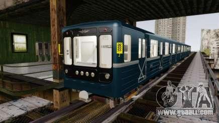 Head underground car models 81-717 for GTA 4