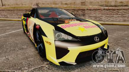 Lexus LF-A 2010 [EPM] Goodsmile Racing for GTA 4
