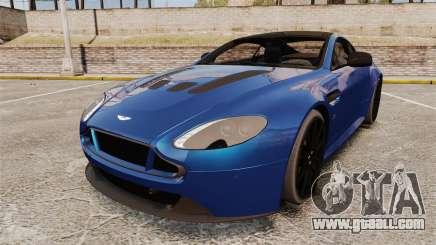 Aston Martin V12 Vantage S 2013 for GTA 4