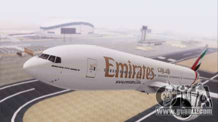 Emirates Airlines 777-200 for GTA San Andreas