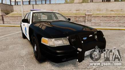 Ford Crown Victoria San Francisco Police [ELS] for GTA 4