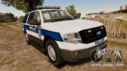 Ford Expedition LCPD SSV v2.5F [ELS] for GTA 4