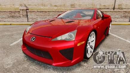 Lexus LF-A 2010 v2.0 [EPM] Final Version for GTA 4