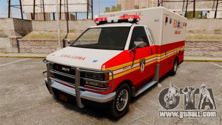 Brute FDLC Ambulance for GTA 4