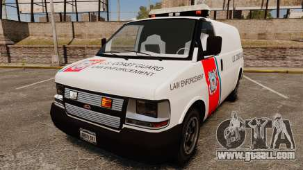Vapid Speedo U.S. Coast Guard for GTA 4