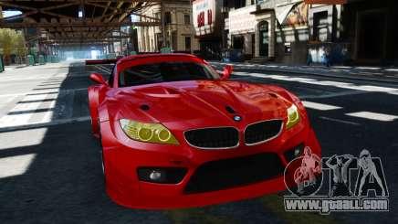 BMW Z4 GT3 2012 for GTA 4