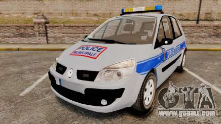 Renault Scenic Police Municipale [ELS] for GTA 4