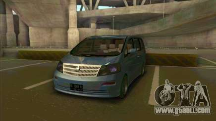 Toyota Alphard for GTA San Andreas