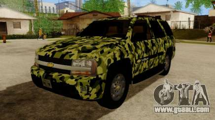 Chevrolet TrailBlazer Army for GTA San Andreas