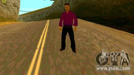 The new texture shmycr for GTA San Andreas