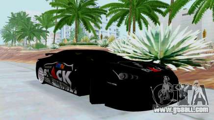 Lexus LFA Street Edition Djarum Black for GTA San Andreas