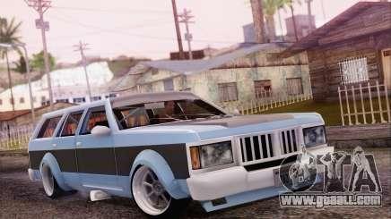 Regina Widebody V8 for GTA San Andreas