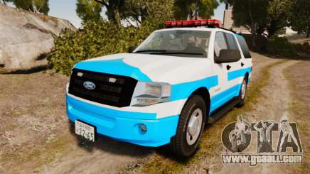 Ford Expedition Japanese Police SSV v2.5F [ELS] for GTA 4