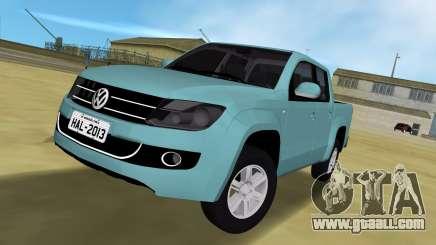 Volkswagen Amarok 2.0 TDi AWD Trendline 2012 for GTA Vice City