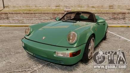 Porsche 911 Speedster for GTA 4