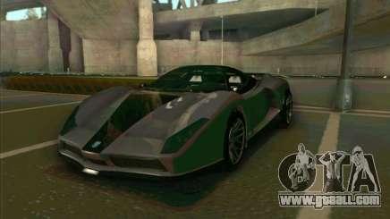 Cheetah Grotti GTA V for GTA San Andreas
