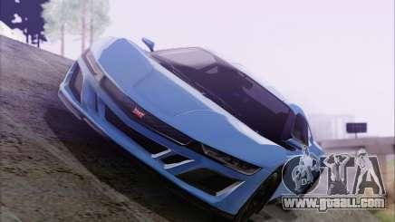GTA V Dinka Jester HQLM for GTA San Andreas