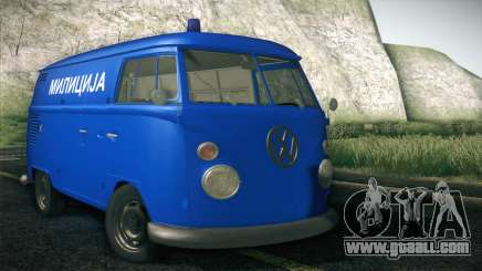Volkswagen T1 Milicija for GTA San Andreas