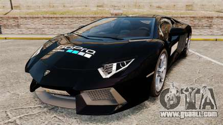 Lamborghini Aventador LP700-4 2012 [EPM] GoPro for GTA 4