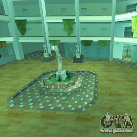 New interior of the radio center for GTA San Andreas