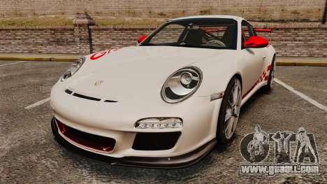 Porsche 997 Carrera GT3 RS for GTA 4