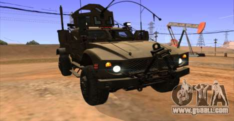 M-ATV из Call of Duty: Ghosts for GTA San Andreas inner view