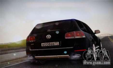 Volkswagen Touareg 2010 for GTA San Andreas left view